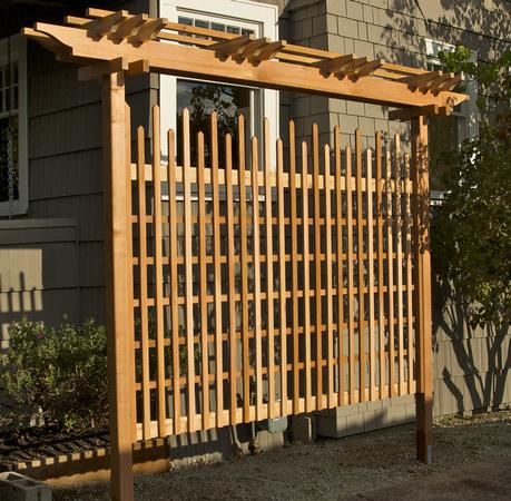Zenfolio bill langer garden woodwork free standing for Lattice screen